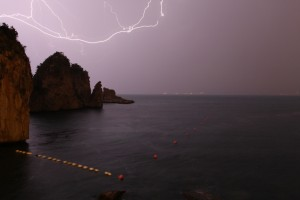 September storm at Scopello