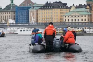Entering Stockholm